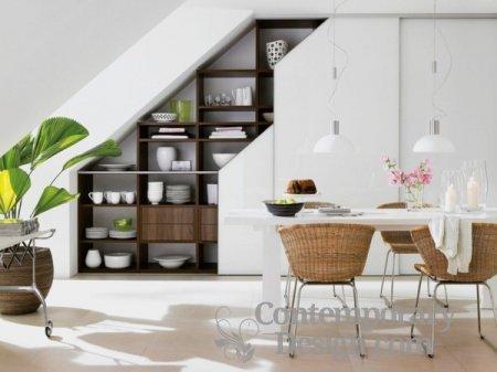 Under stairs crockery cupboard designs
