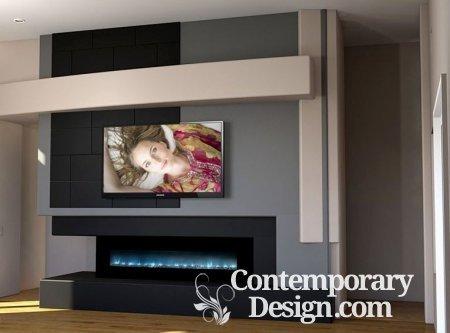 Modern media wall designs